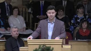 Ubc Sermons | 01.06.2019 | Aleksandr G