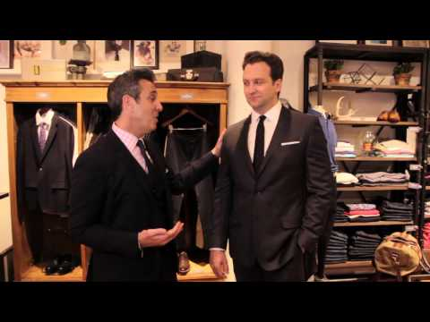 What Color Suit for a Late Fall Wedding Groom? : Wedding Fashion for Men