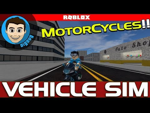 Roblox Vehicle Simulator Motorcycles!! GSX-R1000