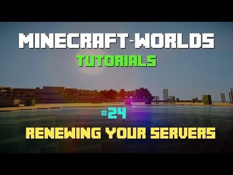 ►Minecraft-Worlds◄ #24- Renewing your servers | Free Minecraft Hosting