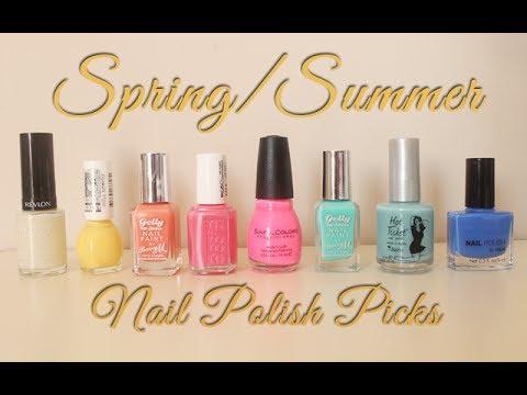 Spring/Summer Nail Polish Picks