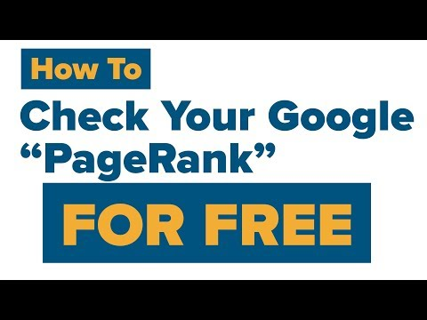 Google Pagerank Checker (2018) Does Google like your Website?
