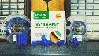 eSUN PETG  -  Filament Review