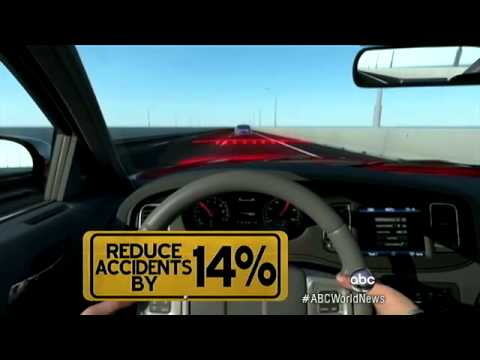 New Car Sensor Warns Drivers Before Accident