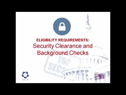 Security Clearance and Background Checks Module 1