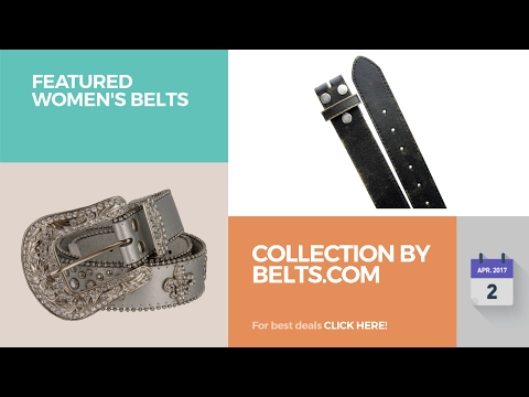 Collection By Belts.Com Featured Women's Belts