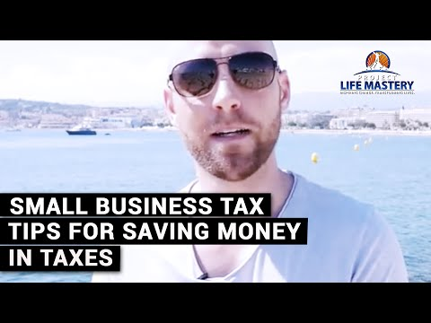 Small Business Tax Tips For Saving Money In Taxes