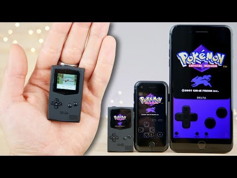A GameBoy For Ants! Worlds Smallest GameBoy..