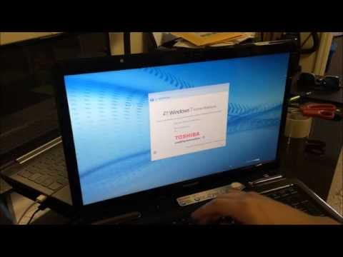How to ║ Restore Reset a Toshiba Satellite to Factory Settings ║ Windows 7