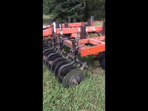 Chisel plow experiment