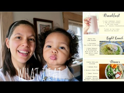 What I Eat In A Day Vlog | MOMS COLLAB!