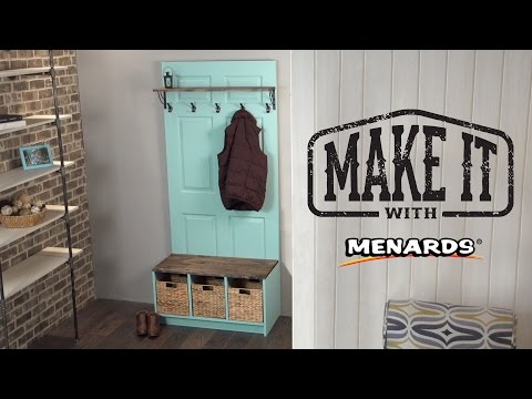 Door Hall Tree - Make It With Menards