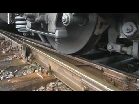 Wheel slip! Locomotive, Пробуксовки поезда, Lokomotywa nie daje rady!