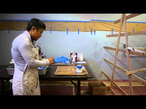 How to brush a Polyurethane on wood