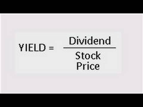 Business Accounting : How to Calculate Dividend Yield