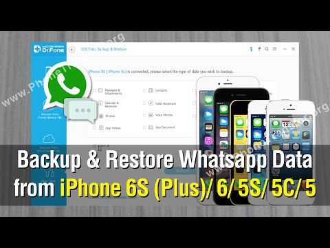 How to Backup & Restore WhatsApp Data from iPhone 7 Plus/6S/6/5S/5C/5 Easily