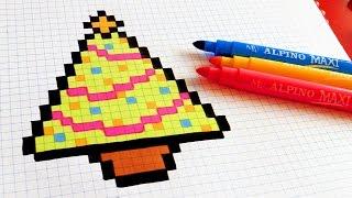 Handmade Pixel Art How To Draw Rainbow Mustache Pixelart