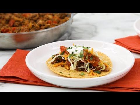 Beef Tacos- Martha Stewart