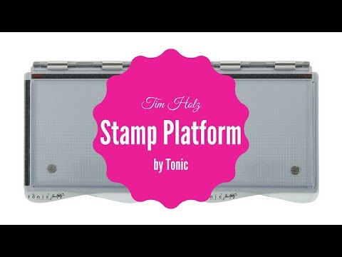 Tim Holtz Stamp Platform by Tonic - Unboxing & Initial Impression