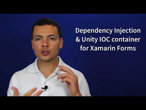 Dependency Injection & IoC containers with Xamarin Forms