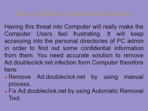 Remove Ad.doubleclick.net simply from Windows PC