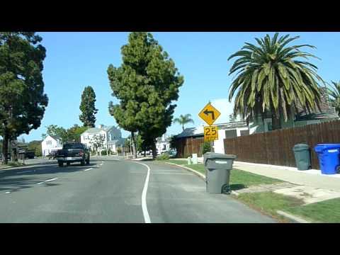Driving over San Diego Coronado Bridge
