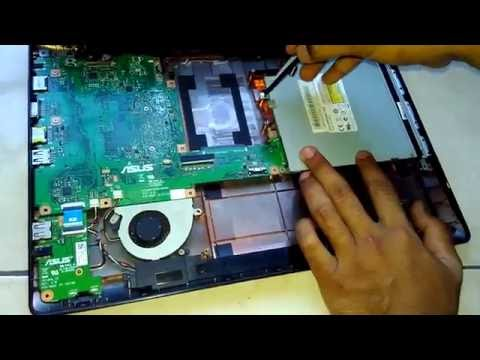 Membongkar dan menggati RAM laptop asus X453M
