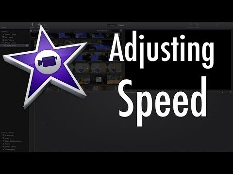 iMovie (Version 10.0) - How to adjust the speed of your clips!