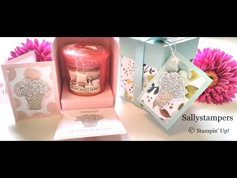 Half Exploding Candle Box