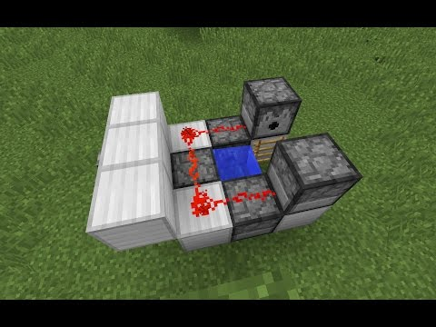 Minecraft 1.9 - Rapid fire TNT cannon (updated 1.11.X video link in description)