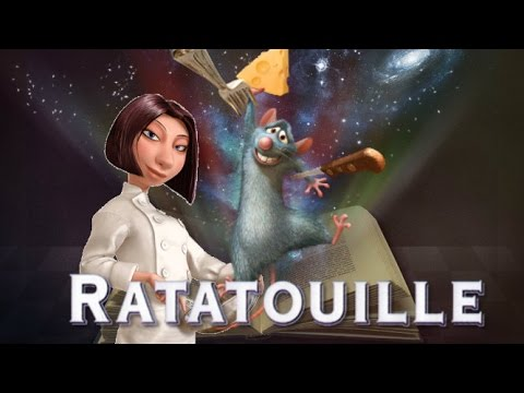 One Amazing Chef Story Book by Disney Story Time  Ratatouille