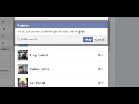 Block Someone From Facebook Page