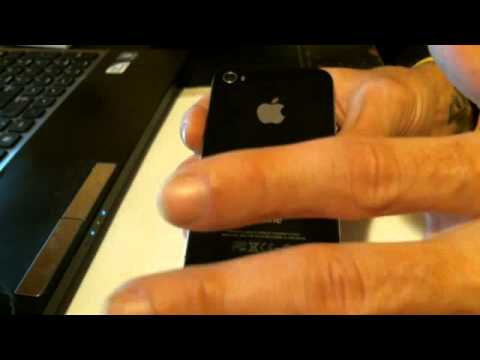 Sprint iPhone 4S Clear MEID/ESN
