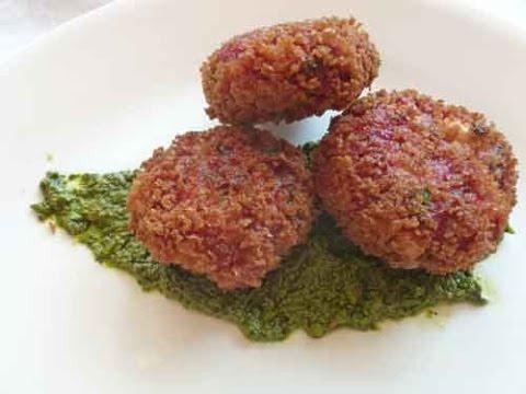Beetroot Tikki - Indian Vegetarian Recipe