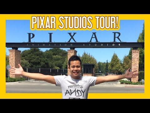 Disney Pixar Studios - Private Tour!