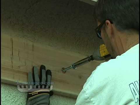 AlumaLattice Ledger Board Installation Instructions