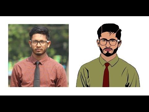Cartoon Effects Tutorial Photoshop CC, Bangla