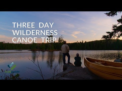 3 Day Wilderness Canoe Trip in Algonquin Park