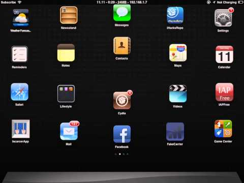 How to change carrier name(iPad,iPhone,iPod Touch)