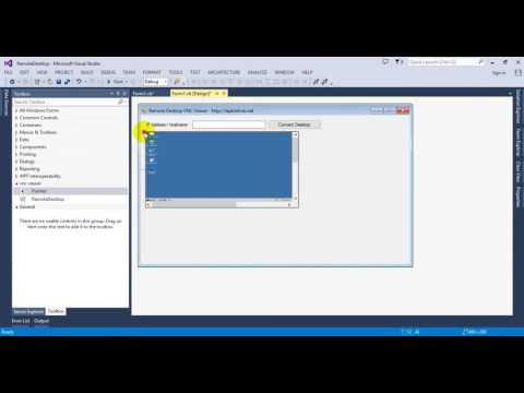 [VB.NET] Remote Desktop Application VNC Viewer