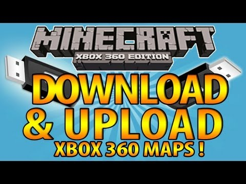 How to download minecraft hunger games for xbox 360 tutorial -