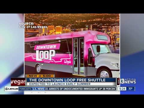 New downtown Las Vegas free shuttle to launch this summer