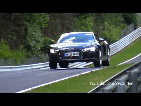 This Is How Car Manufacturers Test on the Nurburgring!