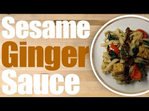 How to make Spicy Sesame Ginger sauce Recipe! SPICY