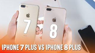 So sánh nhanh iPhone 8 Plus và iPhone 7 Plus, điểm khác biệt là gì?