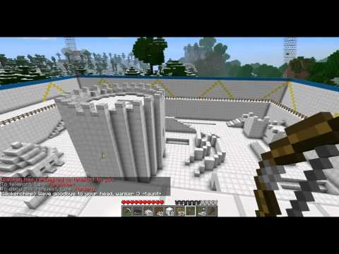Minecraft - Bow and Arrow Combat Arena