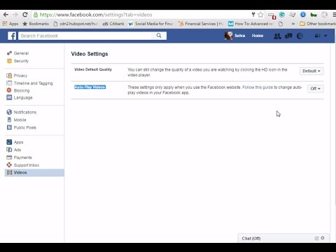 How do I turn off automatically playing video on Facebook - Just disable and stop autoplay