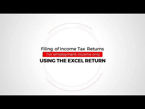 How To File Income Tax Returns Using Excel Sheet & P9 Form - Stori Za Ushuru #MkenyaMtrue