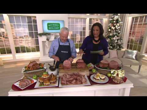Smithfield (2) 3-4 lb. Applewood Smoked Boneless Hams on QVC