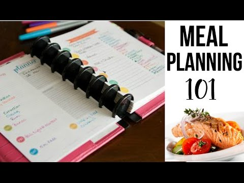 MEAL PLANNING 101 // Meal Planning for Beginners // Budget Friendly Tips